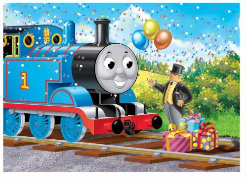 Background for invite birthday party ideas in 2019 - Background thomas and friends ...