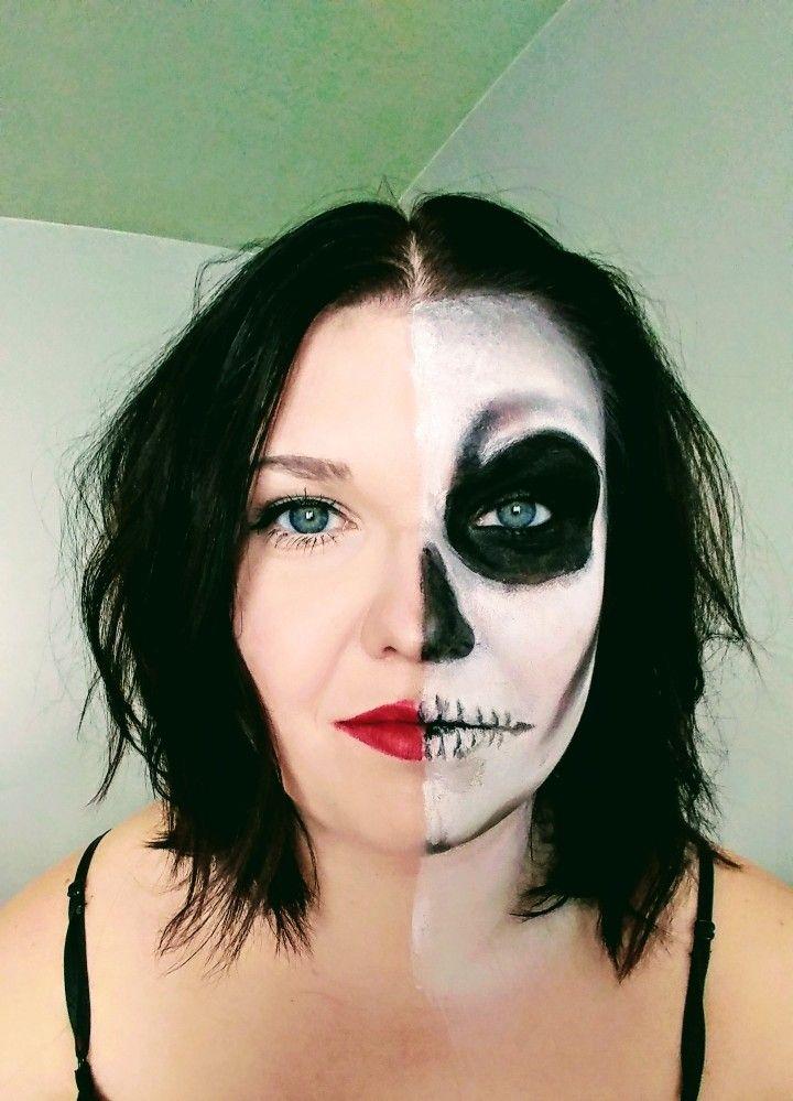 Easy Skeleton Makeup My Style Pinterest Easy Skeleton Makeup
