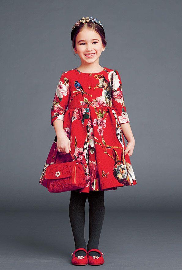 c75dd45f3 dolce and gabbana winter 2015 child collection 37