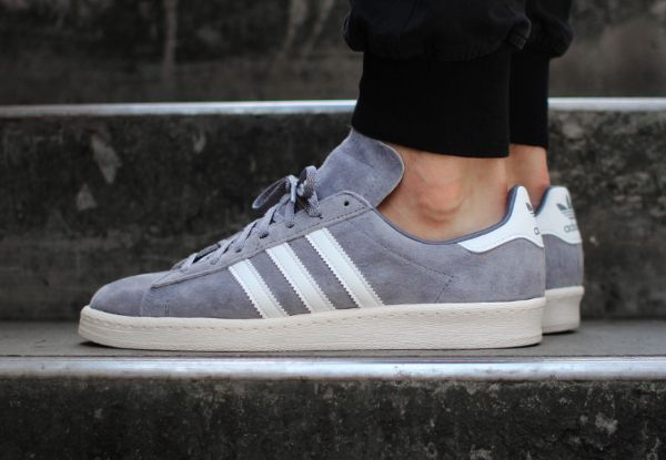 Adidas Campus 80 s Vintage Japan Grey White (2)  7e99ce08939