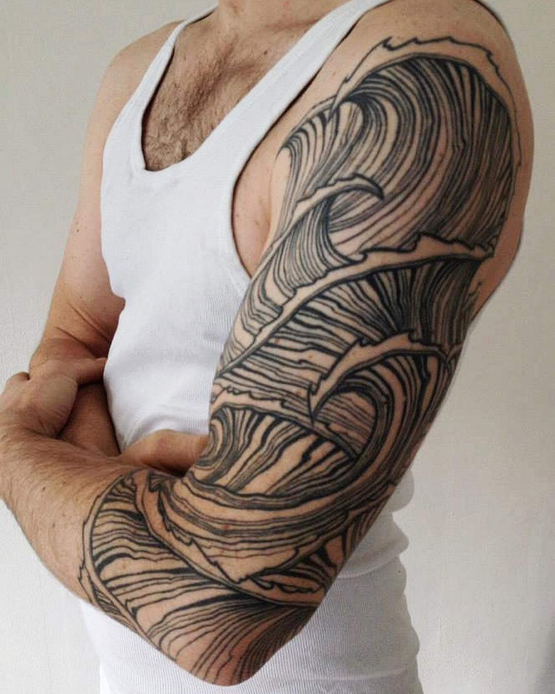 Depression Is Hell Tattoo Submit Your Tattoo: Surfing Tattoo By Jessimanchester. Sleeve Tattoos For Men