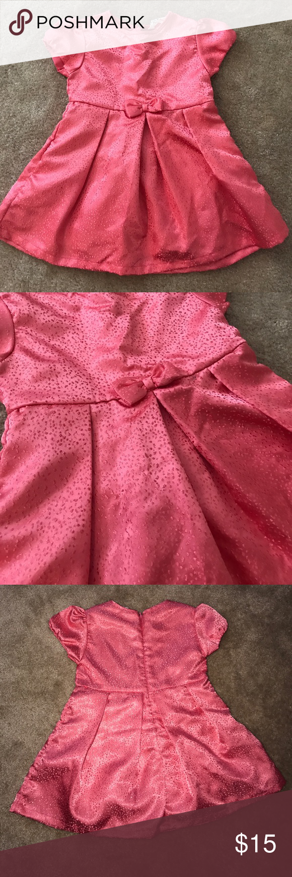 Coral 2T dress Worn 1 for a bridal shower in pristine condition. Dresses Formal