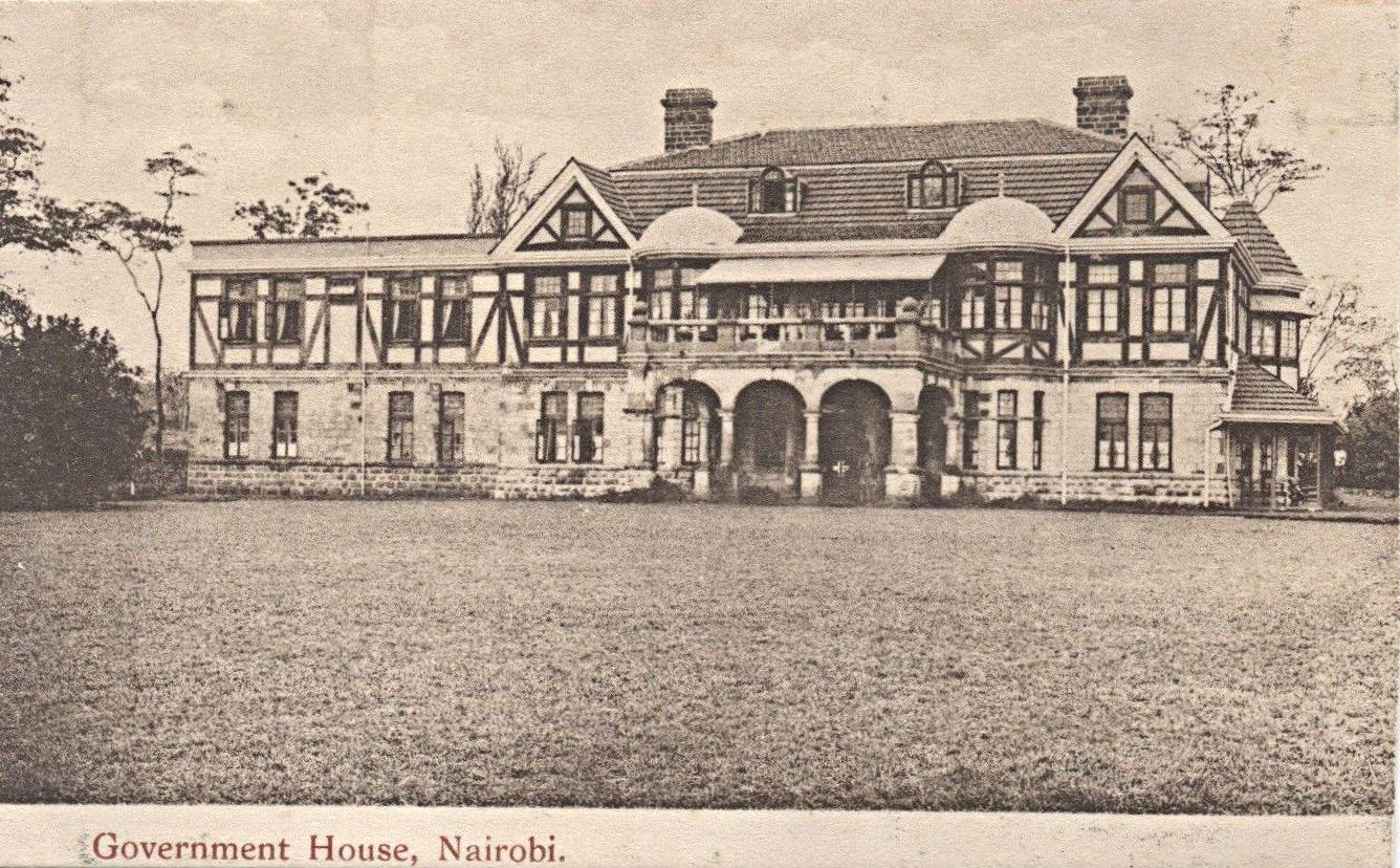 Government House Nairobi Kenya Colony British Colonial German East Africa Nairobi