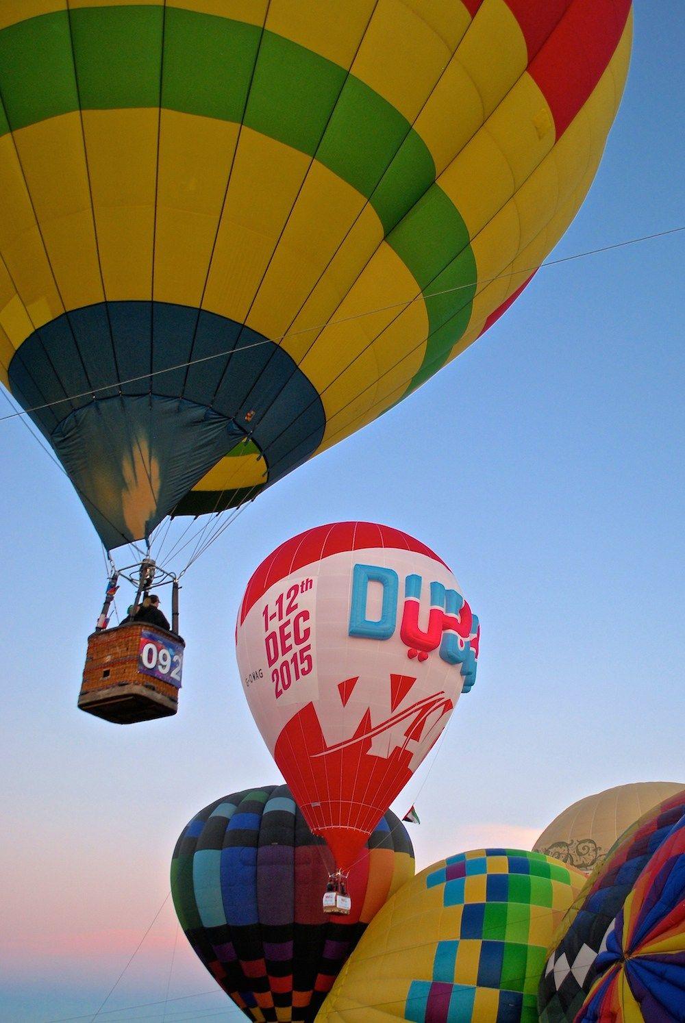 Hot Air Balloon Festival, Albuquerque NM Hot air balloon