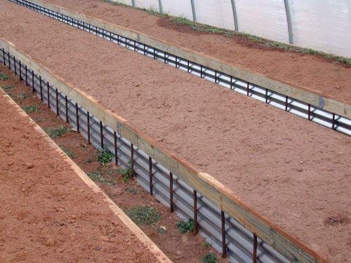 Raised Bed · Corrugated_metal_beds. Corrugated SheetsCorrugated MetalMetal  ProjectsGarden ...