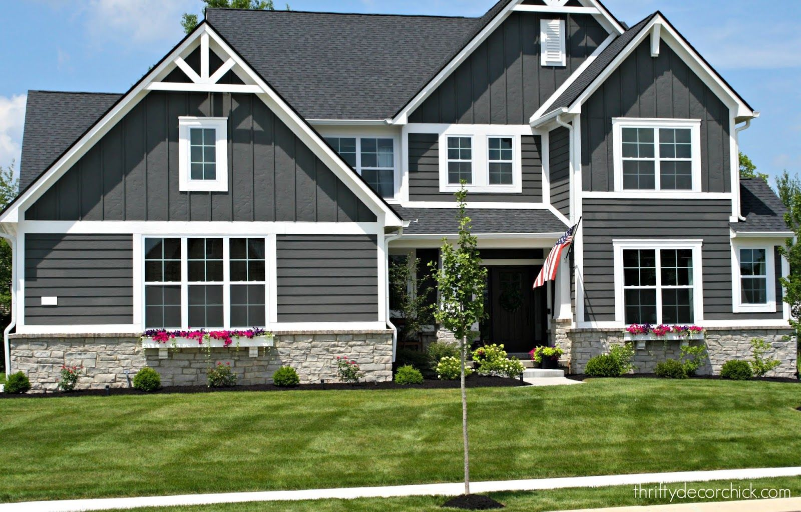 The Exterior Of Our Modern Craftsman Home Craftsman Home