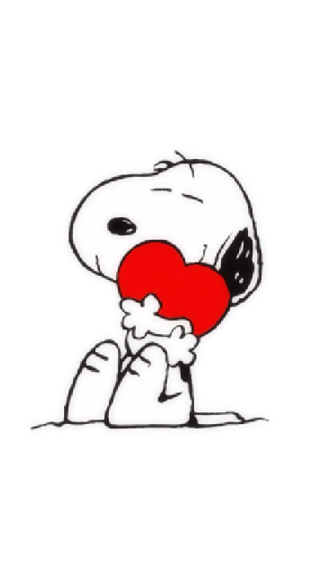 Happy Valentine's Day from Snoopy
