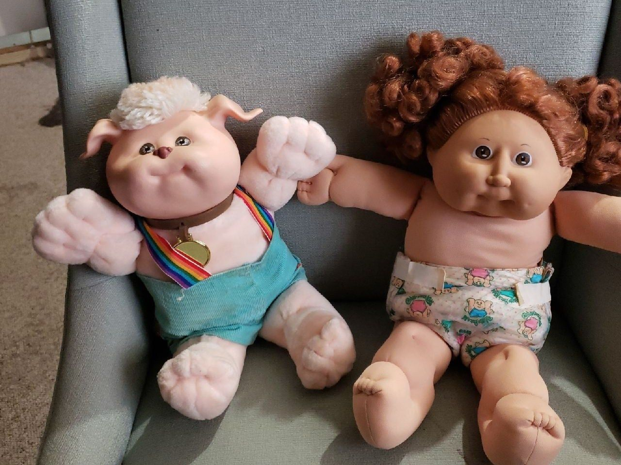 These Cabbage Patch Kids Are From The Early 80s Great Quality Rare And Hard To Find Cabbage Patch Babies Cabbage Patch Kids Cabbage Patch Kids Dolls