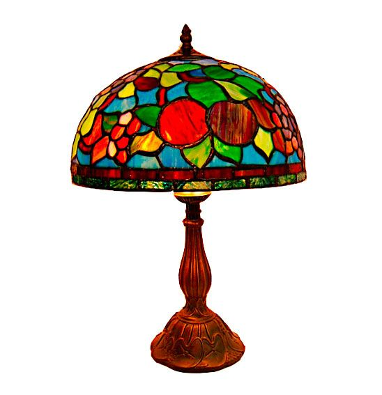 Lam Tiffany Sobremesa Rainbow   Material: Resina   ... Eur:261 / $347.13