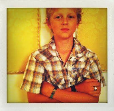 my kid..cool app (shakeItPhoto), rome hotel