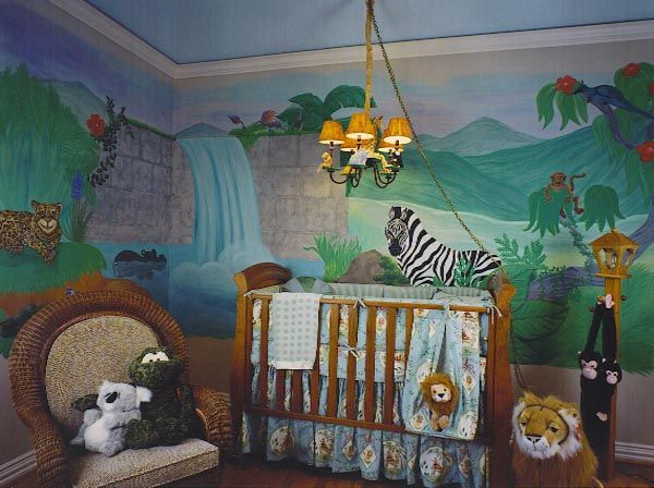 jungle animals baby boy room | baby boy room jungle ideas as