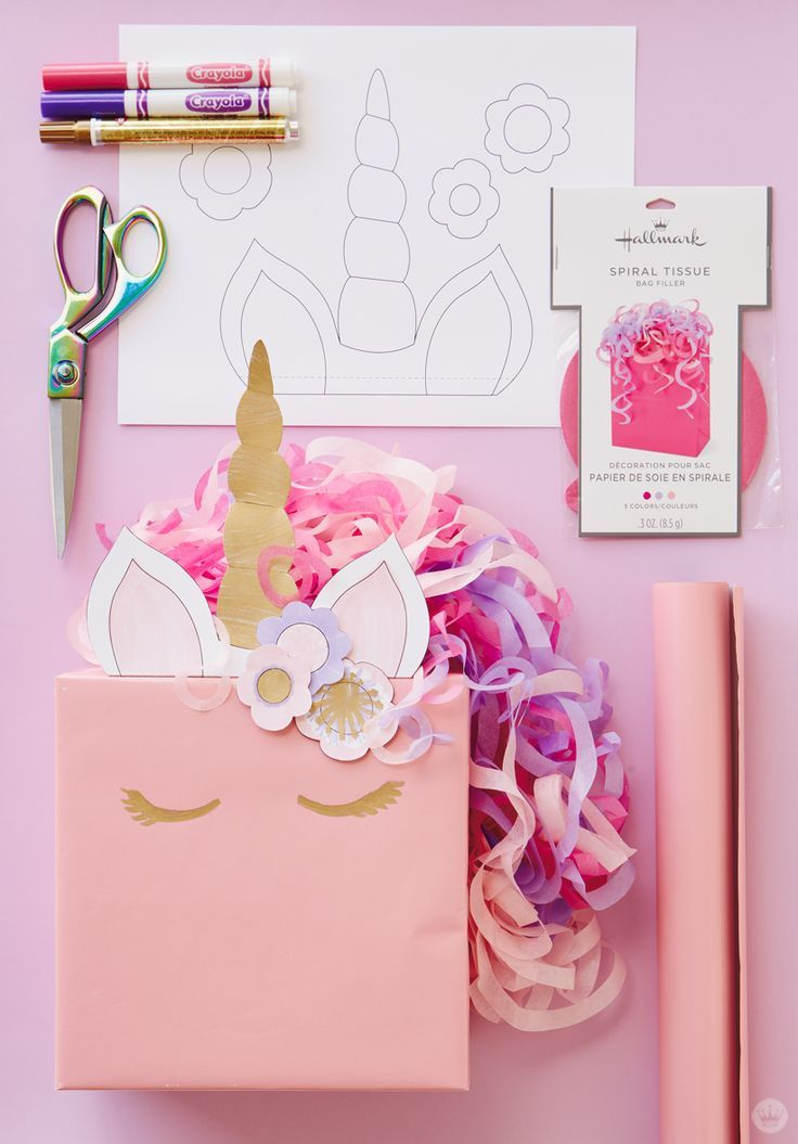 Cute kids gift wrap ideas: Turn presents into animals with free downloads - Think.Make.Share.