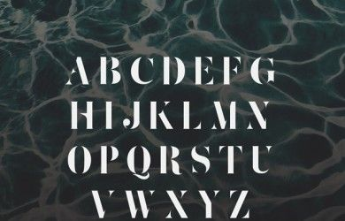 2.Fresh Free Font Of The Day  Zefani