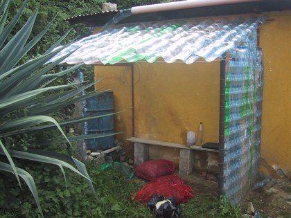 Plastic Bottle Greenhouse Plastic Bottle Greenhouse Plastic Roof Tiles Roofing Diy