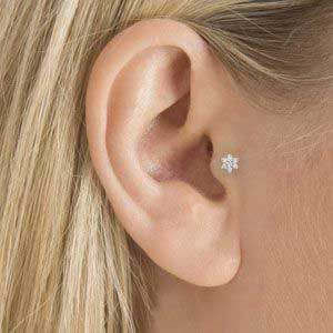 Tragus Piercing Process Pain Infection Cost And Healing Time