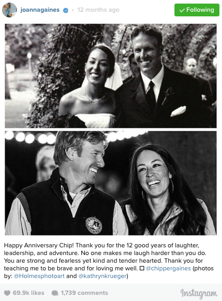 Chip And Joanna Gaines Wedding.Chip And Joanna Gaines Wedding Pic Magnolia Market Fixer Upper