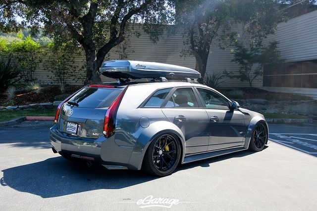 Cadillac Cts V Wagon Stanced Google Search Auto Cts
