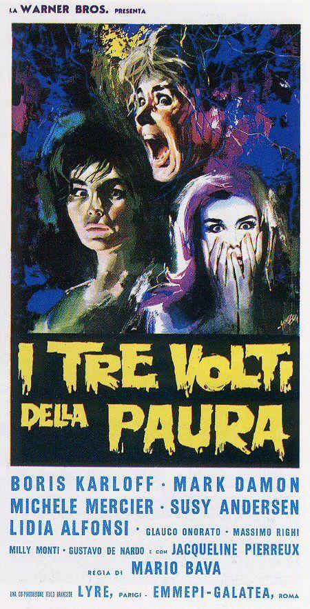 Black Sabbath Vintage Horror Movie Poster A3 Reprint