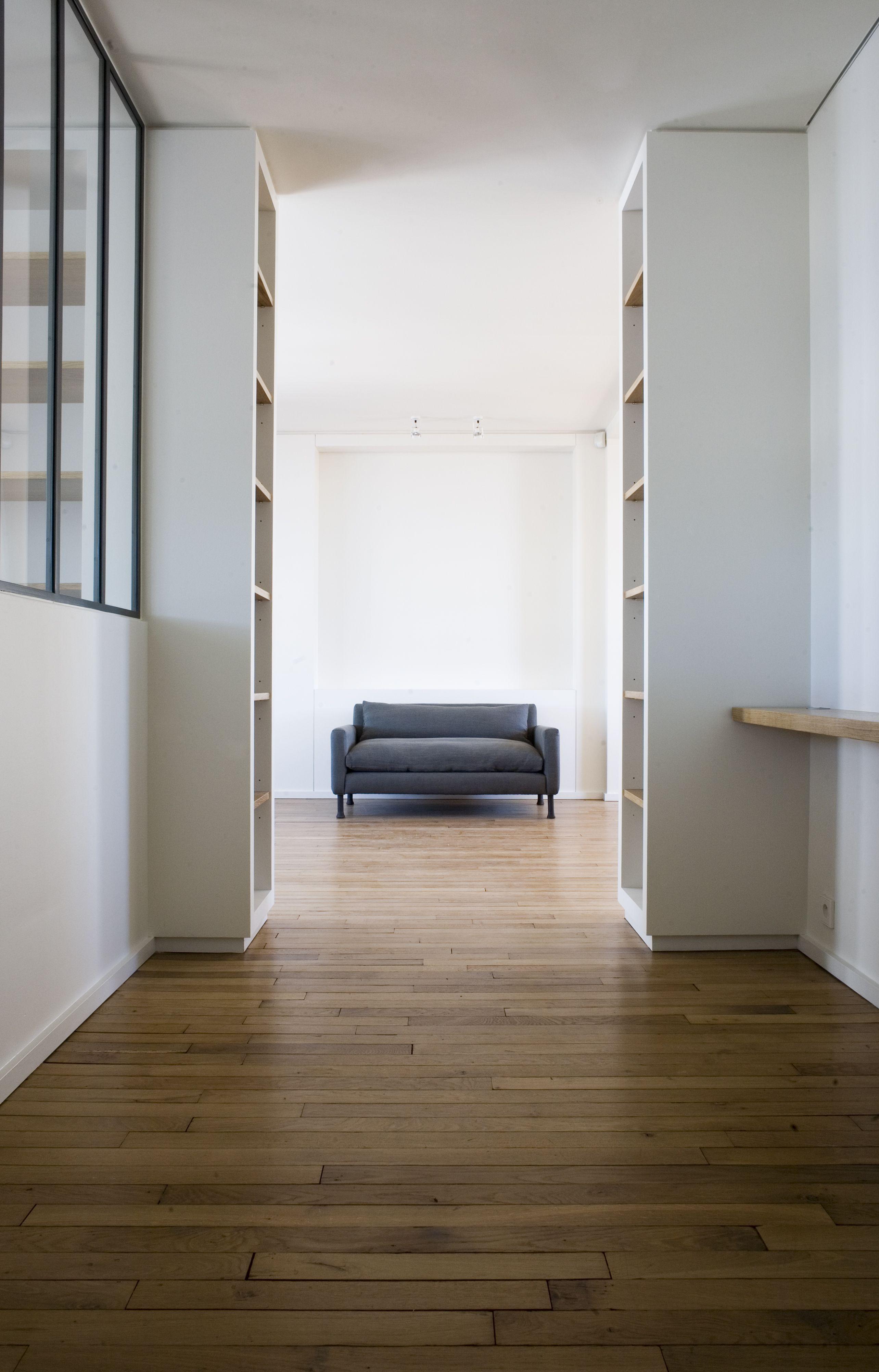 Renovation Paris Atelier D Artiste Parquet Ancien Architecte Interieur Agence Architecture Architecte