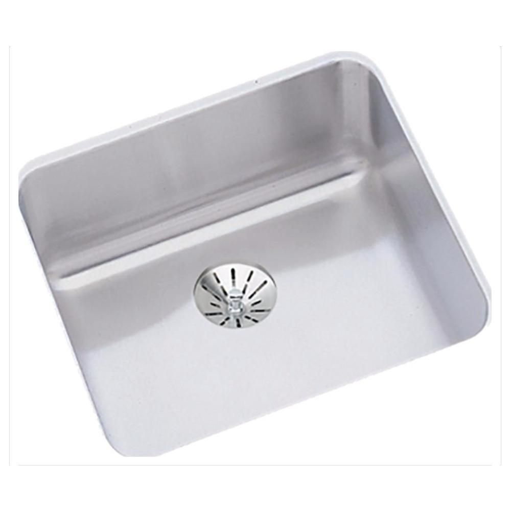 Stainless Steel Bar Sink 14 1 2 Lustertone Elkay Eluh1212pd Sink Stainless Steel Kitchen Stainless Steel Bar