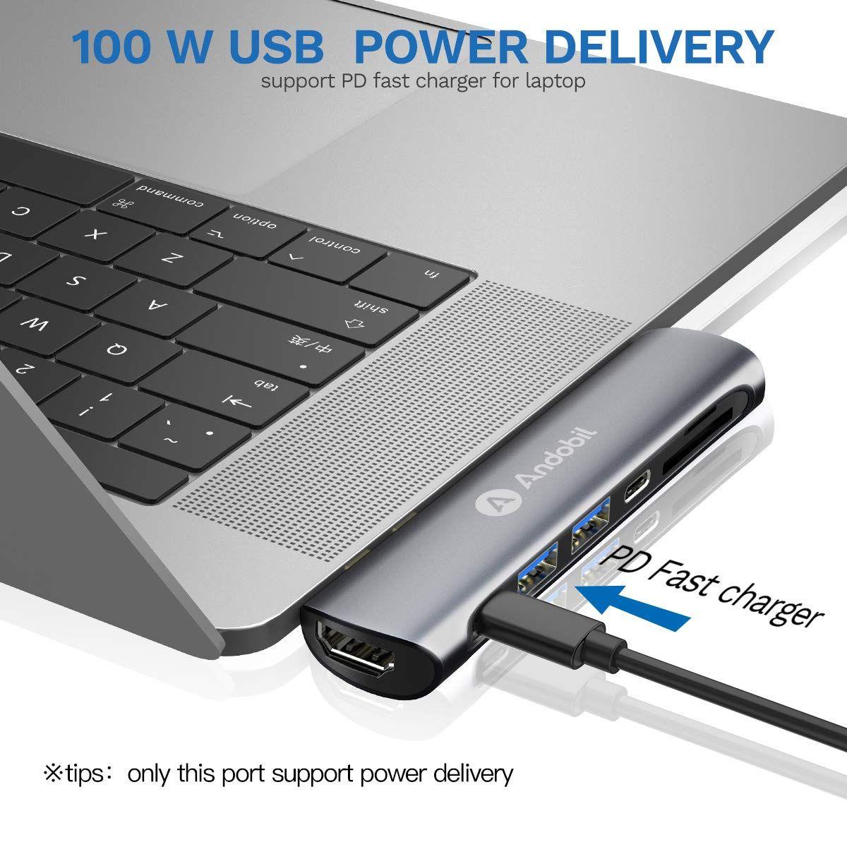 Hyperdrive Pro 8 In 2 Usb C Hub For Macbook Pro Air Macbook Macbook Pro Apple Laptop Macbook