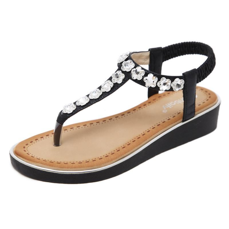 Tucomosi Women S Summer Shoes Flat Ladies Beach Sandals For Ladies Womens Sandals Flat Womens Summer Shoes Summer Shoes Flats