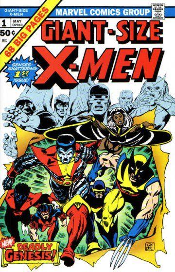 Giant Size X Men Vol 1 1 Marvel Comic Books Comic Book Covers Comic Covers