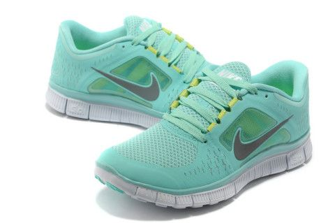a38e91689d4d Nike Free Run 3 Womens Size 9 Tropical Twist Reflect Silver Pure Platinum  Neon Green