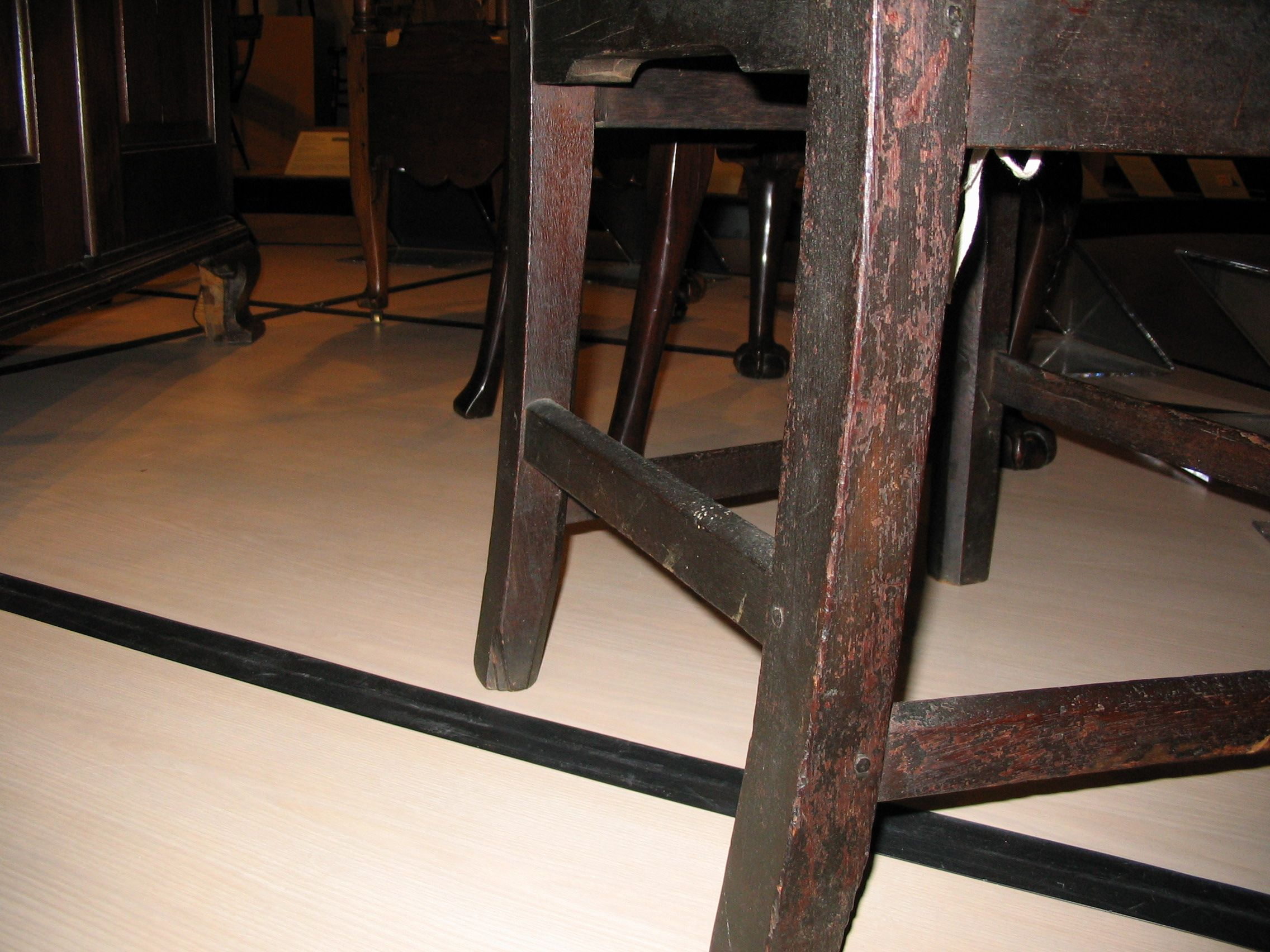 Side Chair, Mid 1700s, King George County, Virginia, Walnut And Beech,