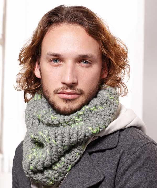 Mens Cowl Bing Images Mens Knitcrochet Fashion Pinterest