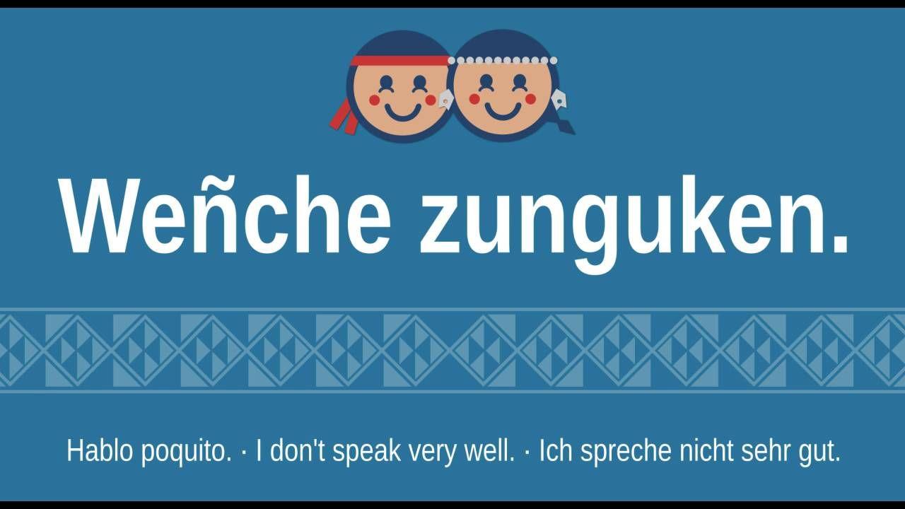 Frases Básicas del Mapudungun traducidas al Espa±ol Inglés y Alemán