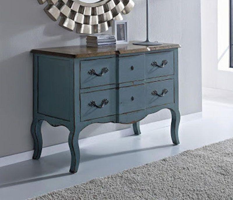 Comodas vintage consolas vintage xinfonier vintage muebles - Muebles de entrada vintage ...