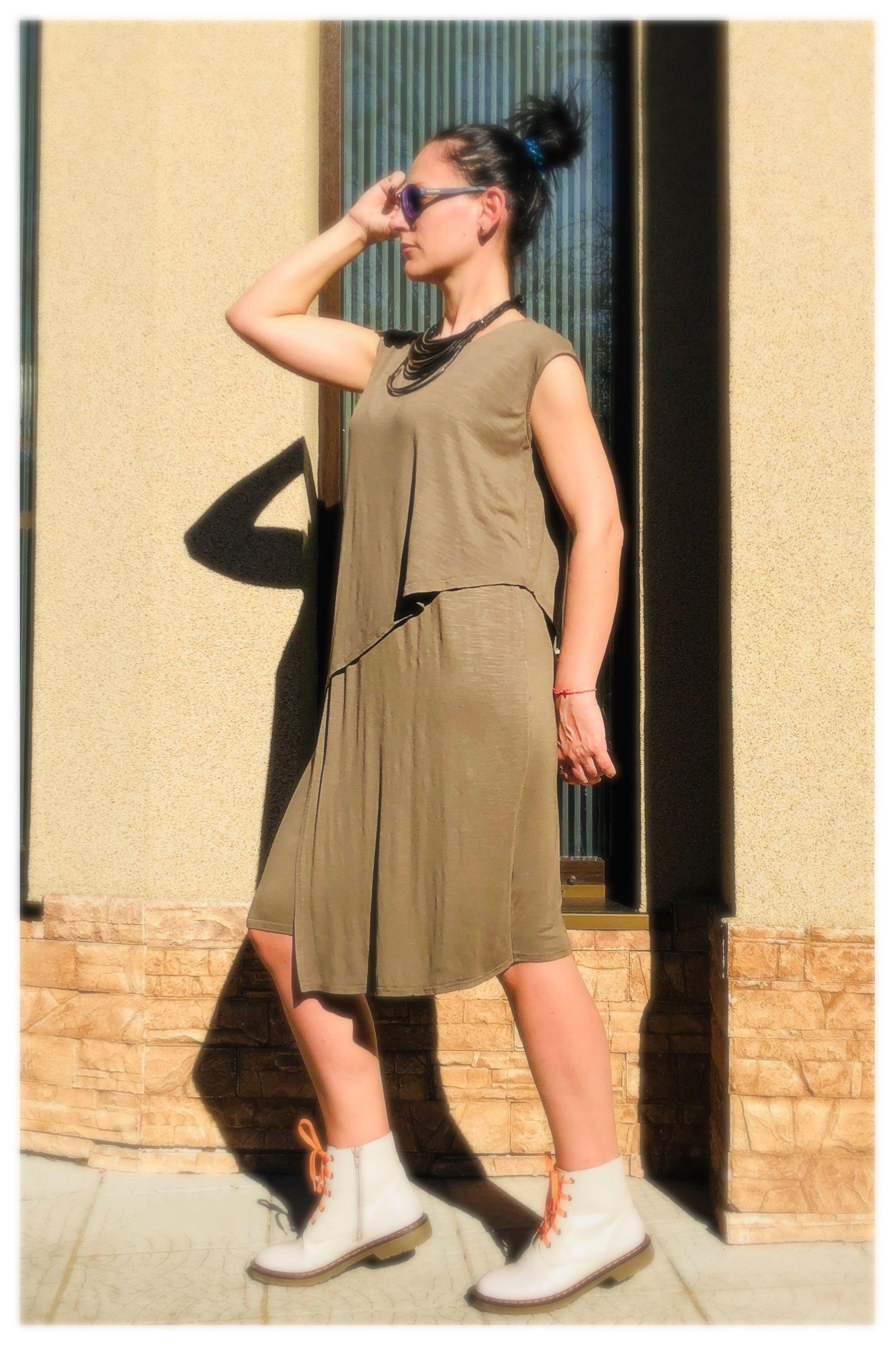 Olive green plus size maxi dress boho maxi dress womenus clothing
