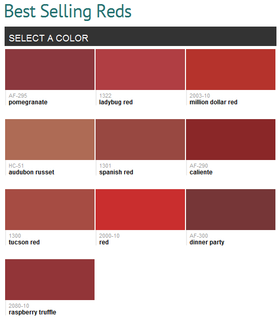 Best Ing Reds Benjamin Moore When We Repaint The Bedroom Brown And Red