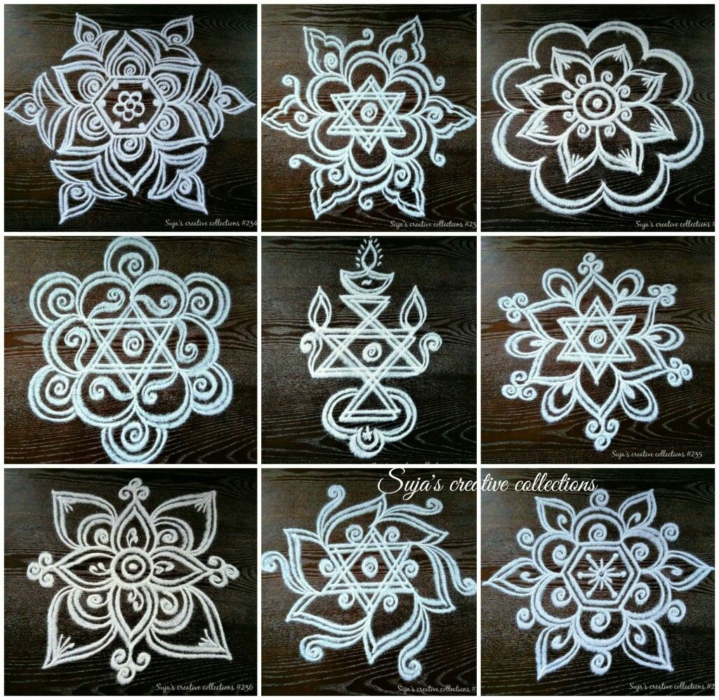 Wedding Kolam Images: I Would Love To Be Able To Get These Stencils! Then I