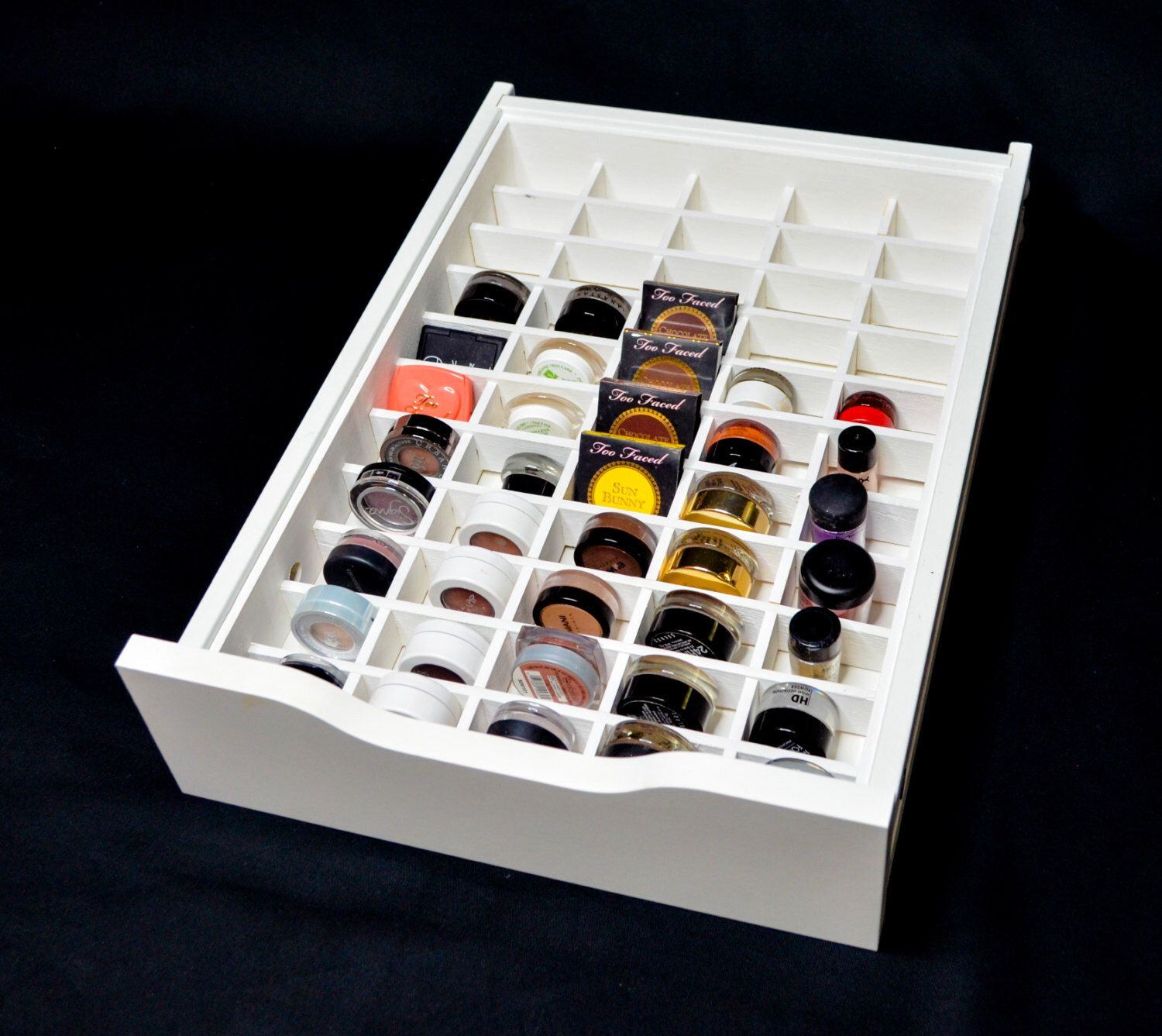 Alex 9 Eyeshadow Organizer - Makeup Organizer - Alex 9 Makeup Drawer Insert  - Eyeshadow Storage