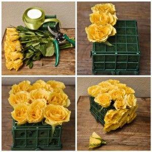 Simple Diy Flowers Wedding Centerpiece Ideas Picture Wedding