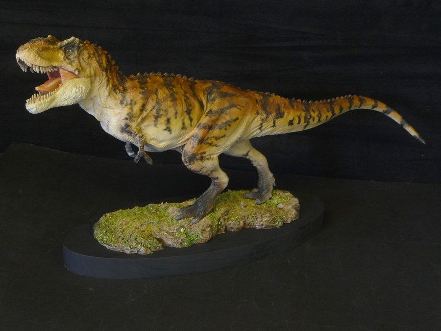 T.rex by Paleocraft by Baryonyx-walkeri.deviantart.com on @deviantART