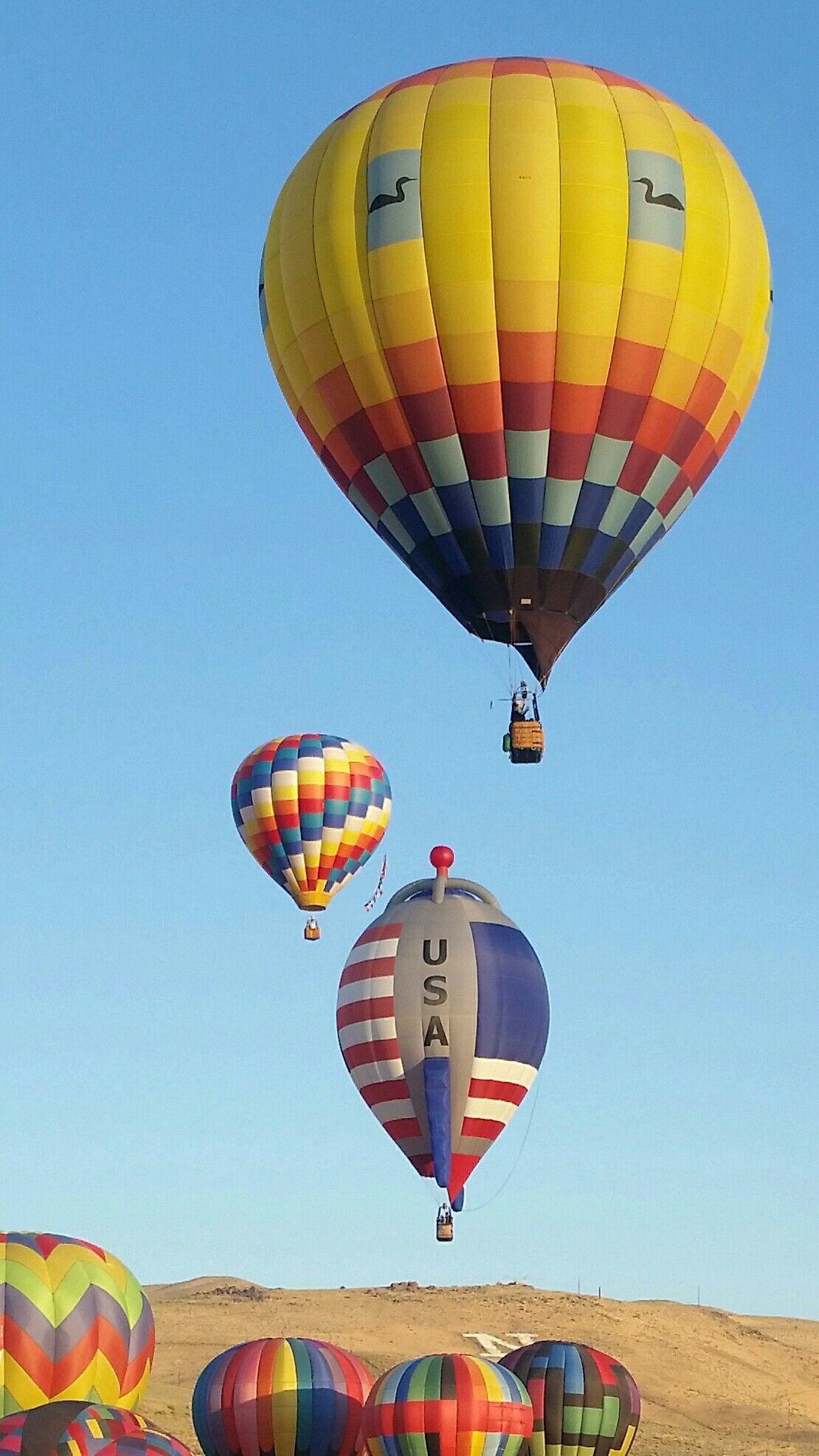 Great Reno Balloon Race, Reno ,Nevada, Sept 10,2017