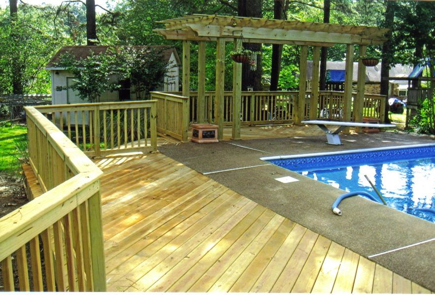 Pergolas pool pergola wrap around deck off duty fences - Craigslist swimming pools for sale ...