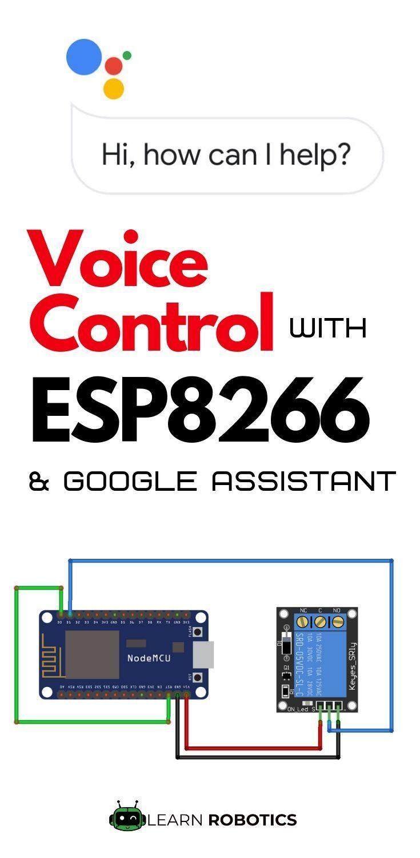 Home Automation using Google Assistant & ESP8266 | ESP8266 ESP32