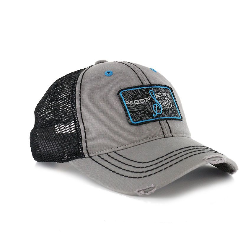 on sale 79c89 b62f4 Moonshine Spirit Distiller Trucker Ball Cap, Grey   Boot Barn