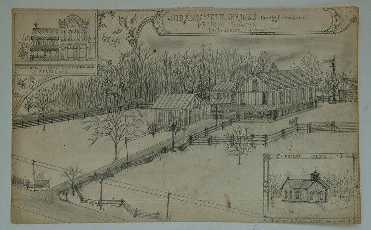Hoosier artist Jacques de Du-Glass imaginary town Lynxbourgh, Indiana