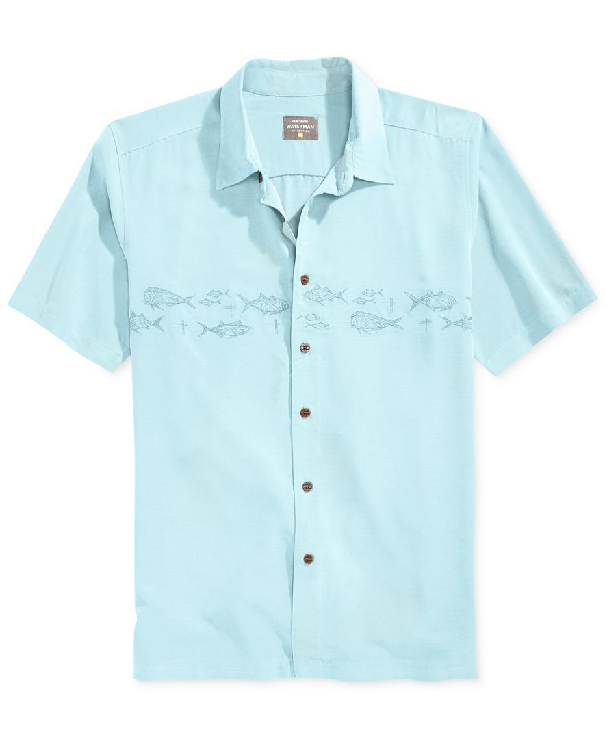 Quiksilver Men s Reef Embroidered Button-Front Shirt   Trunk Club ... 51d5ab1ada