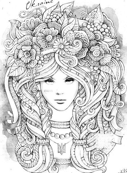 Anti Coloring For Adults Art Therapy Vk Coloring