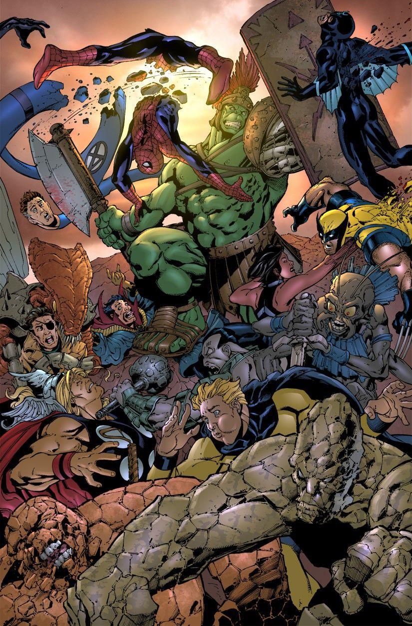 #Hulk #Fan #Art. (Giant-Size Hulk #1 pg8) By: Peter David and Dale Keown. [THANK U 4 PINNING!]