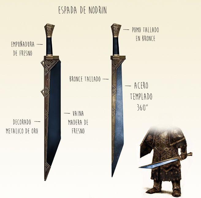 Dwarven Sword Variant Weapons Pinterest Lotr Swords Sword And