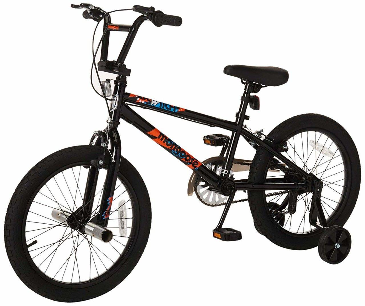 Mongoose Switch Boy S Freestyle Bmx Bike With Training Wheels