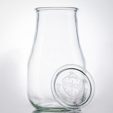 Weck Glasdeckel RR 100 zu Einkochglas Ersatzdeckel Glas