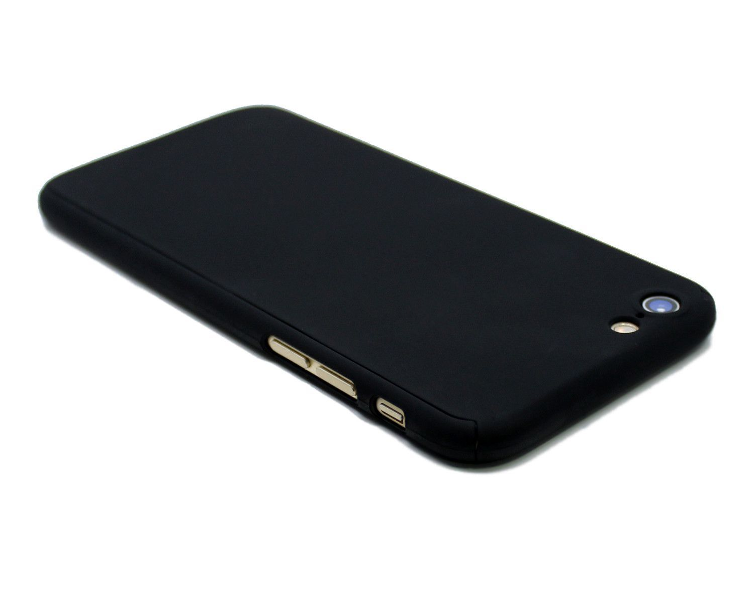 buy popular 26128 a3762 Ultra thin matte gold phone case with temper glass front. Fits ...
